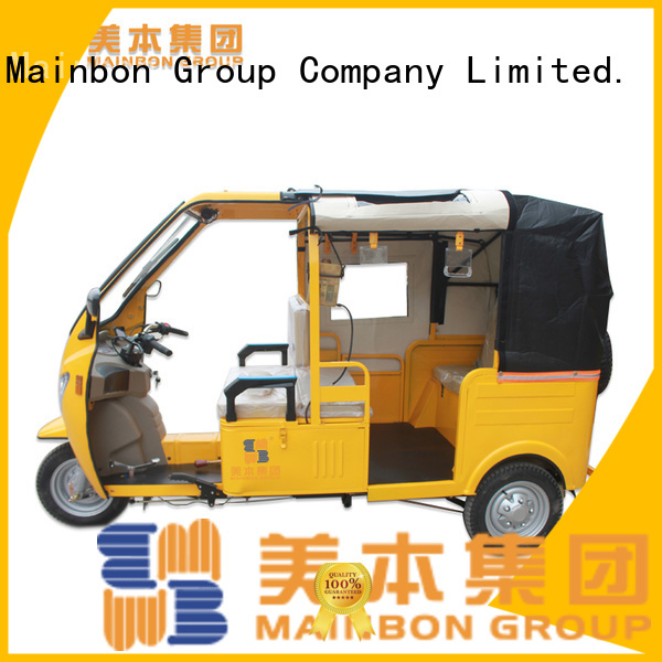 Mainbon Best gas tricycle scooters company for ladies